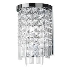Chandelier Wall Sconce Glamorous Crystal Sconce 2017 Design U2013 Wall Sconces Lighting