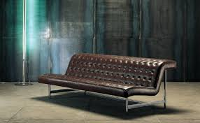 Narrow Leather Sofa Furniture Fashionsmall Leather In Brown Or White