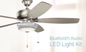 kichler fan light kit bluetooth ceiling fan speaker kit kichler ceiling fan light kit