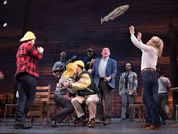 post pics of where you come from review u0027come from away u0027 a canadian embrace on a grim day the