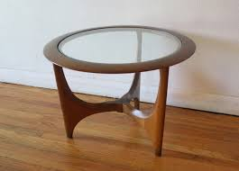 modern side table mid century modern side end table by lane picked vintage