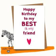 happy birthday card beste freund lustig von jessicasweets auf