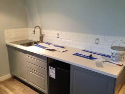 alex and janine u0027s basement kitchen and bathroom fresh reno
