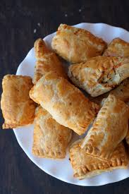 chicken puff pastry chicken patties
