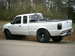 White Mustang Black Wheels Wheels And White Trucks What Are You Runnin Ranger Forums