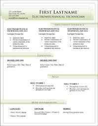 free cv templates 184 to 190 u2013 free cv template dot org