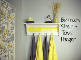 yellow and grey bathroom home