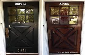 Refinish Exterior Door Stunning Exterior Door Refinishing Pictures Decoration Design