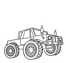 printable monster truck coloring pages coloring