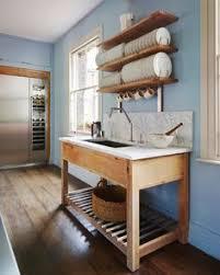 Kitchen Free Standing Cabinets 22 amazing kitchen makeovers freestanding kitchen neutral