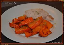 cuisiner le potimarron au four potiron rôti au four la cuisine de lilly