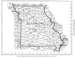 State Of Missouri Map by Detailed Missouri State County Map Missouri State Usa Maps