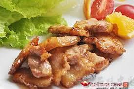 cuisiner poitrine de porc poitrine de porc à la peau d recette chinoise