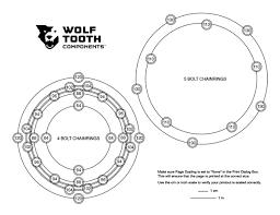 bolt circle template v2 rotor caliper retrofit for v1 cars page