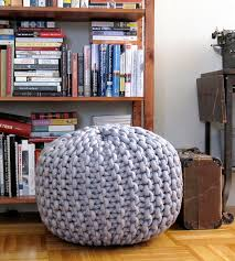 knitted pouf ottoman target furniture how to make a knit pouf ottoman for home accessories and
