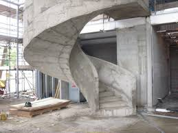 the fastest and easiest process of building curved concrete spiral