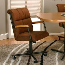 dining chairs caster swivel tilt dining chairs rolling swivel