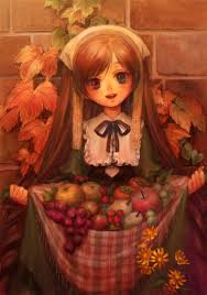 happy thanksgiving day anime happy thanksgiving