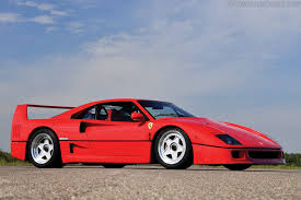 how many f40 are left 1987 1992 f40 images specifications and information