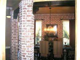 Dining Room Columns Interior Living Packer Brick