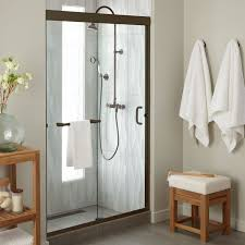 48 Shower Doors 48 Brackett Sliding Shower Door Bathroom