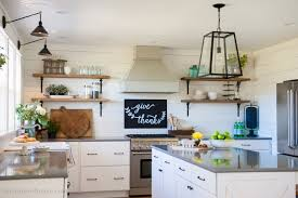 fixer white kitchen cabinet color our farmhouse kitchen reveal the house