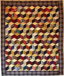 cubes en soie quilt recyclant des cravates et des tissus anciens
