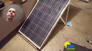 solar power at night time youtube