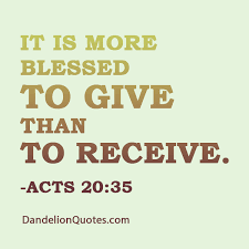 quotes about giving more than receiving 24 quotes