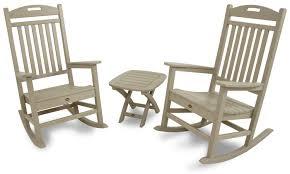 Polywood Jefferson Rocking Chair Patio Polywood Inc Trex Patio Furniture Adirondack Chairs