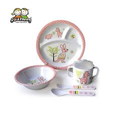 baby plates baby dish sets melamine cheap melamine plates its my party happy