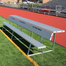 Portable Sports Bench Aae Athletic Sports Field Benches Shelters U0026 Bleachers Aluminum