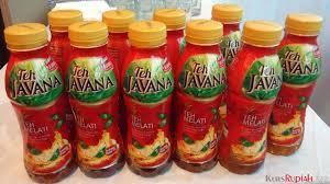 Teh Javana 350ml harga mulai rp2 000 teh javana diklaim punya citarasa indonesia