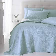 Bedroom Design Ideas Duck Egg Blue Bed U0026 Bedding Classic Quilted Bedspreads In Grey For Amusing