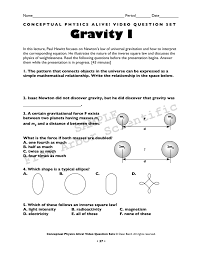 gravity i arbor scientific