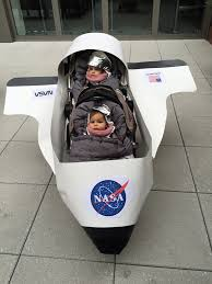 Baby Pickle Halloween Costume Dyi Baby Astronaut Halloween Costume Turned Double Stroller