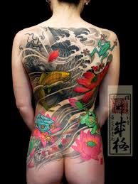 japanese back tattoo new japanese design tattoo april 2010
