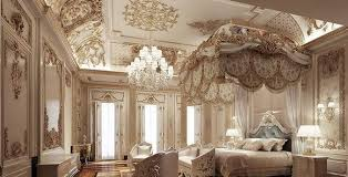 deluxe bedroom interior with luxury decor 3d model max