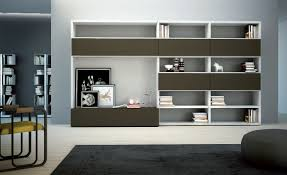 Bookcase In Wall 15 Best Ideas Of Wall Storage Units