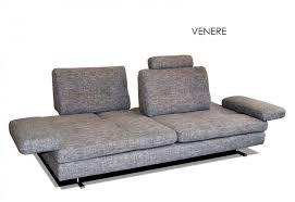 canapé grande profondeur canape haut de gamme italien venere 3 5 places venere de tissu gris