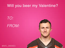 Meme Valentines Card - here s this year s batch of hilarious nfl valentine s day cards
