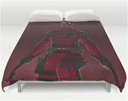 Marvel Double Duvet Cover Marvel Comics Wade Winston Wilson Deadpool Bedding U2013 Superhero Sheets