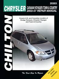 chrysler town and country 2006 repair manual findgett