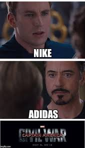 Nike Meme - marvel civil war 1 meme imgflip