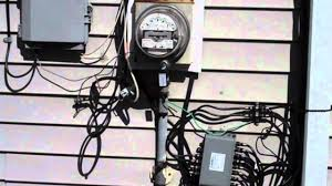 new electrical service to residential home part 1 of 2 youtube