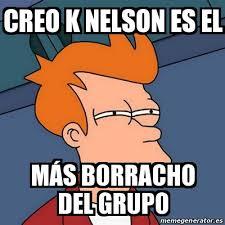 Nelson Meme - meme futurama fry creo k nelson es el m磧s borracho del grupo