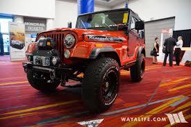 red jeep 2017 2017 sema rengade iii red jeep cj 5