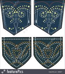 illustration of back pocket design