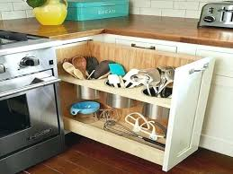 Kitchen Cabinet Storage Options Corner Cabinet Storage Solutions Corner Kitchen