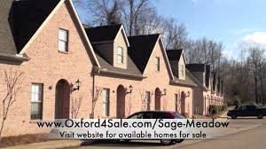 sage meadow oxford ms 38655 homes for sale condos youtube